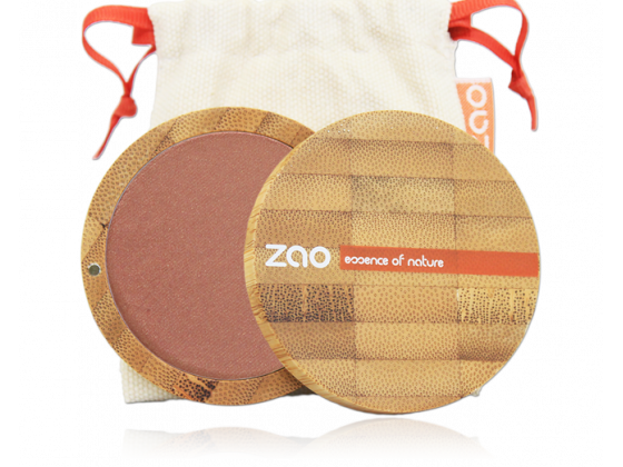 Zao - Compact Blush 325 Golden Coral