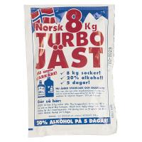 Norsk Turbogjær 8kg