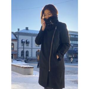 Amanda wool coat