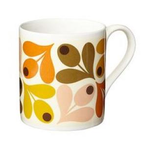 Multi Acorn Orange Mug