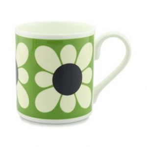 Square Daisy Flower Green