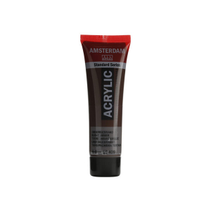Amsterdam Standard 20ml – 409 Burnt Umber