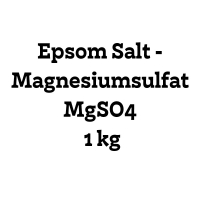 Epsom Salt - Magnesiumsulfat MgSO4