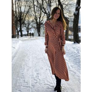 Spotty Wrap Dress