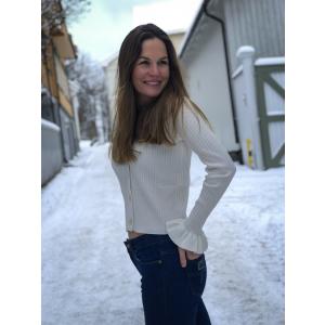 Mariella knit cardigan -offwhite