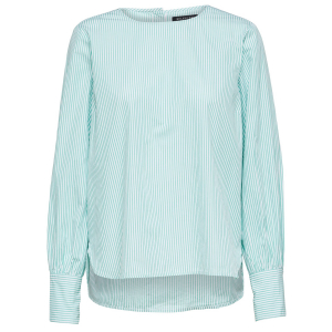 Kinny bluse grønn/hvit