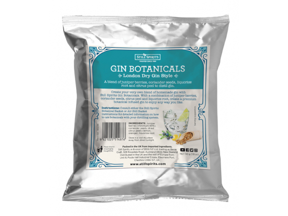 SS Gin Botanicals London Dry Gin