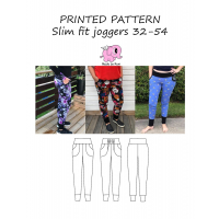 Slim fit joggers woman 32-54