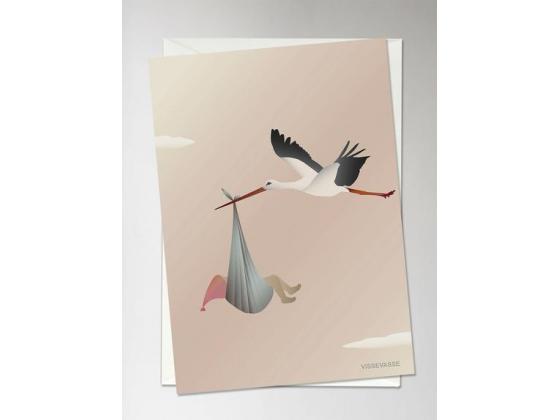 The stork rosa