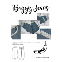 Baggy Jeans - Dame