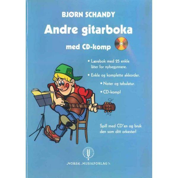 ANDRE GITARBOKA MED CD-COMP