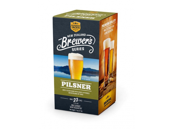 Pilsner - New Zealand Brewers Series til 23 L