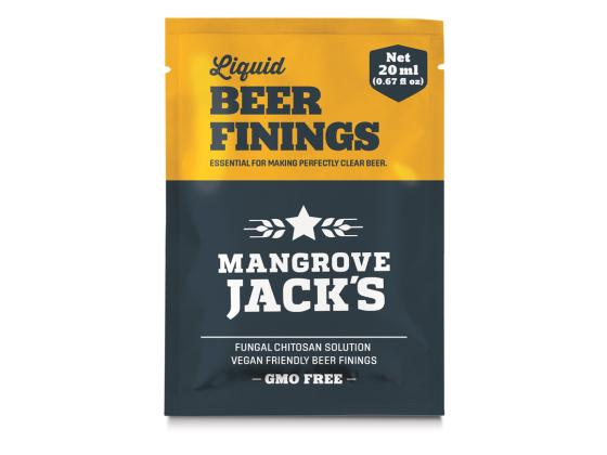 Klarningsmiddel til øl - Mangrove Jacks Liquid Beer Finings 20g