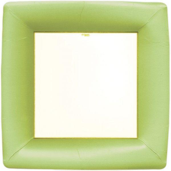 Middagstallerken grønn