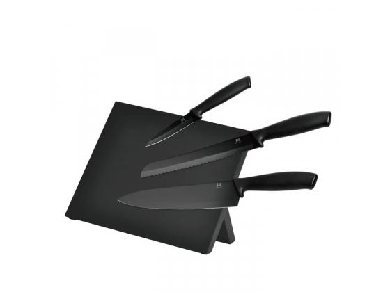 Knivblokk svart