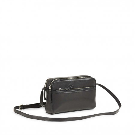 Flora Crossbody Bag Black