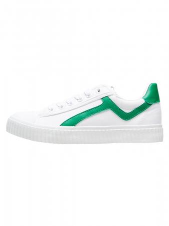 Erica sko hvit/grønn