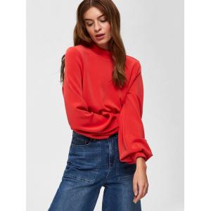 Tea genser rød