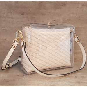 Cristal synthetic cross body