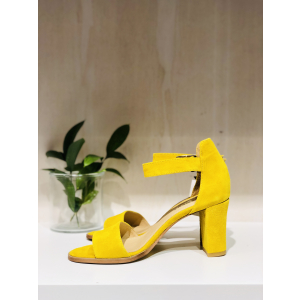 Silke - Yellow suede