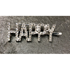 The Crystal Letter Hairclip