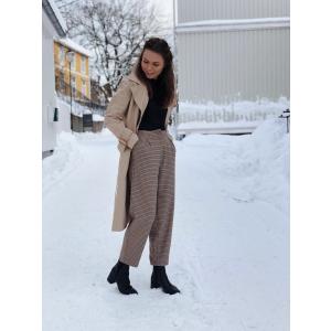 Rhye trench coat - Cornstalk beige
