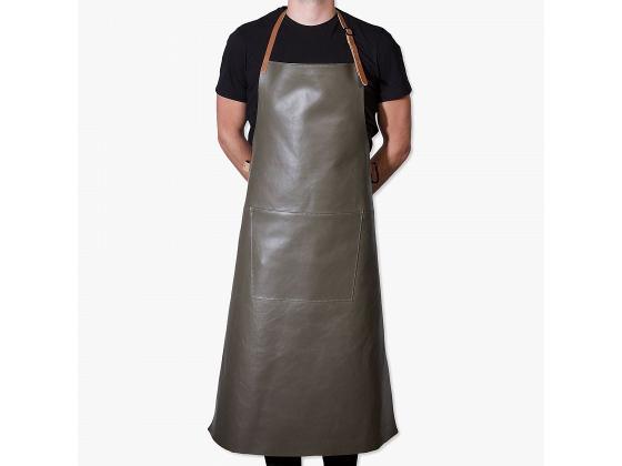 Apron extra long BBQ new grey