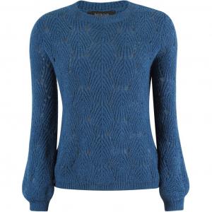 Elisabeth genser blå
