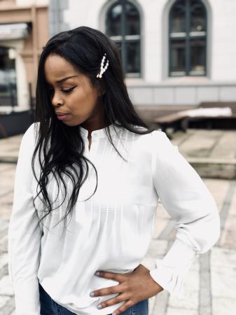 Livia ls top - White
