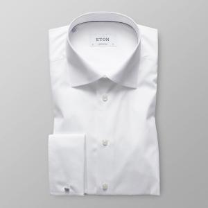 Fransk mansjett contemporary hvit skjorte fra Eton