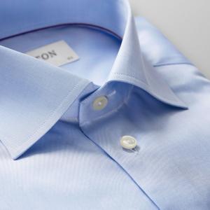 Lysblå Slim fit, Cutaway