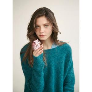 Ramona genser mineralgrønn