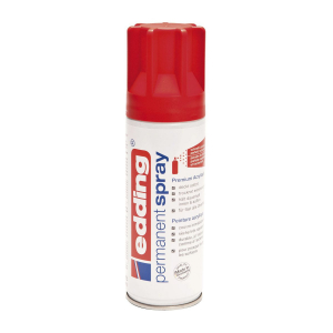 EDDING SPRAYLAKK TRAFFIC RED