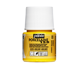 PORSELENSMALING GUL 45 ML