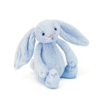 JELLYCAT - BASHFUL BUNNY BLUE 18 CM (RANGLE)