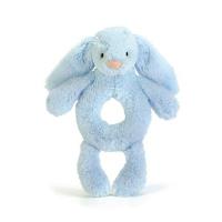 JELLYCAT - BASHFUL BUNNY RANGLE 18 CM BLUE