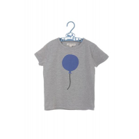 BALLOON COPENHAGEN - T-SKJORTE GREY/BLUE