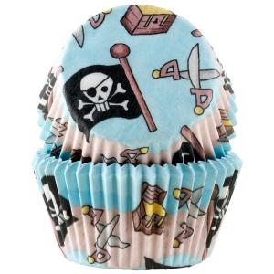 Muffinsform STD Pirat, 50 stk