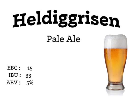Heldiggrisen Pale Ale