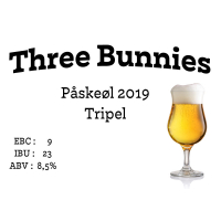 Three Bunnies Påskeøl 2019
