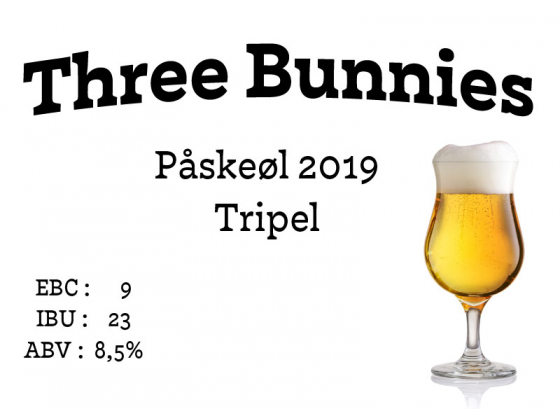 Three Bunnies Påskeøl 2020