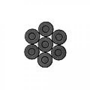 Magneter Ø 20 mm 10 stk