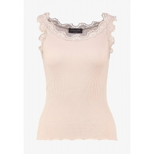 Silk Top Regular w/ Vintage lace