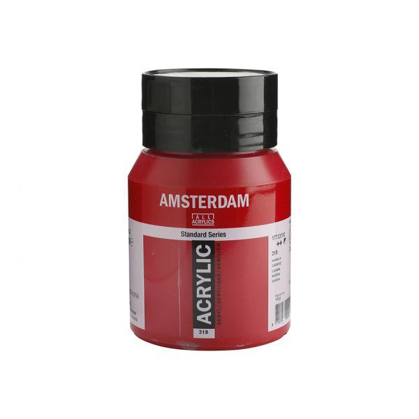 Amsterdam Standard 500ml – 318 Carmine