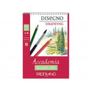 Fabriano Accademia Drawing Spiral 200g A4 – 30ark
