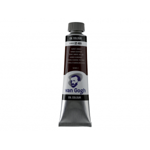 Van Gogh Olje 40ml – 409 Burnt umber