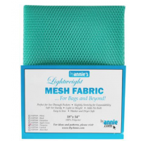 Mesh Lite Weight Turquoise 18in x 54in