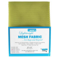 Apple Green Mesh Lite Weight  18in x 54in