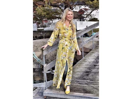 sand kjole gul
