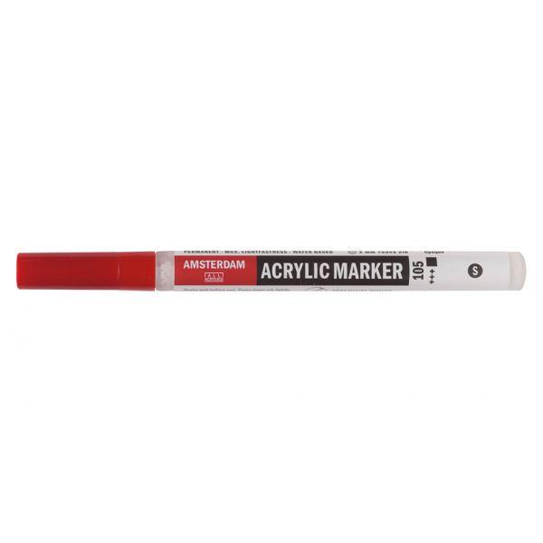 Amsterdam Marker 2mm – 105 Titanium white